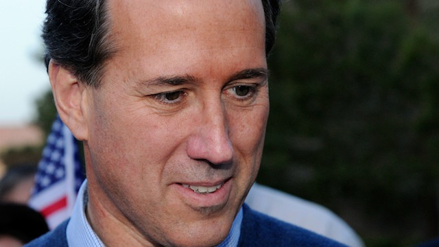Rick Santorum, Health Expert, Touts Made Up Link Between Breast Cancer and Abortions
