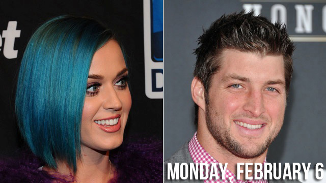 Katy Perry Wants to Know Tim Tebow in the Biblical Sense