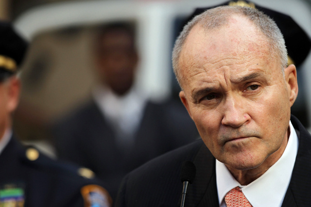NYPD Commissioner Ray Kelly in Post-Blizzard Fender Bender