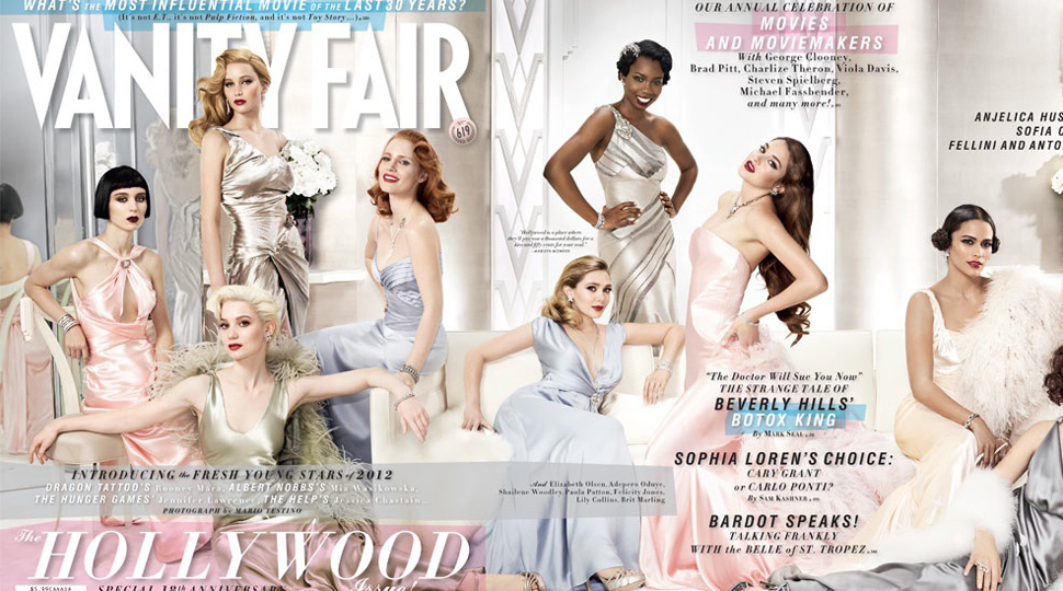 <em>Vanity Fair</em>'s Hollywood Issue Pushes Actresses Of Color Aside (Again!)