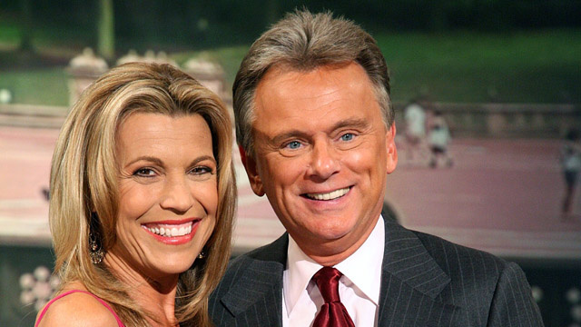 Pat Sajak Admits He and Vanna White Were Often Plastered on Wheel of Fortune