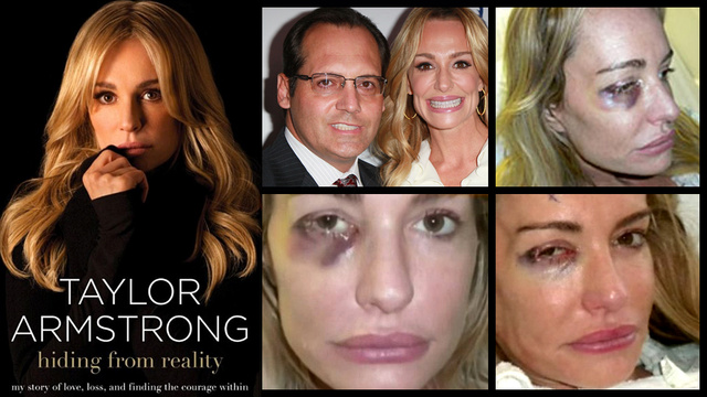 The Sad Tell-All Tale of Taylor Armstrong's Violent Marriage