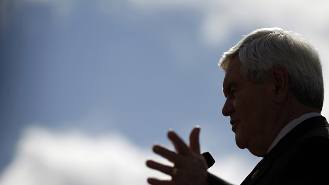 Newt Gingrich Wants to Build a Second America on the Moon