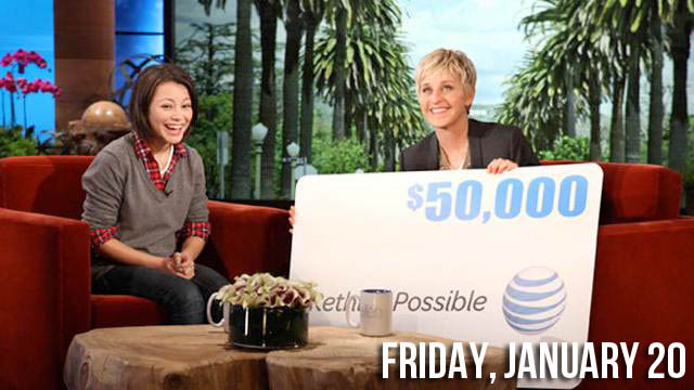 Ellen Gives Brilliant Homeless Girl Totally Deserved Scholarship