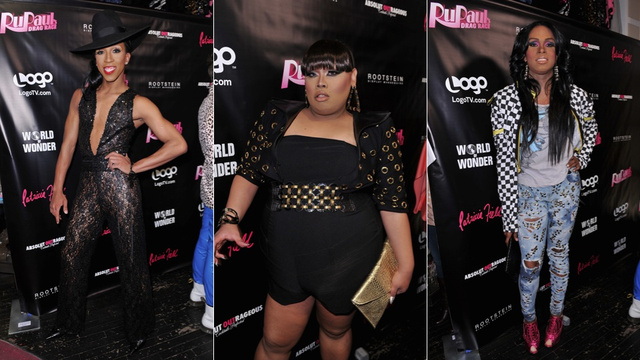 False Lashes and Real Queens at Drag Race Party