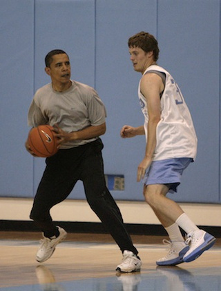 Obama Needs 12 Stitches to Lip After Getting Hit During Basketball Game