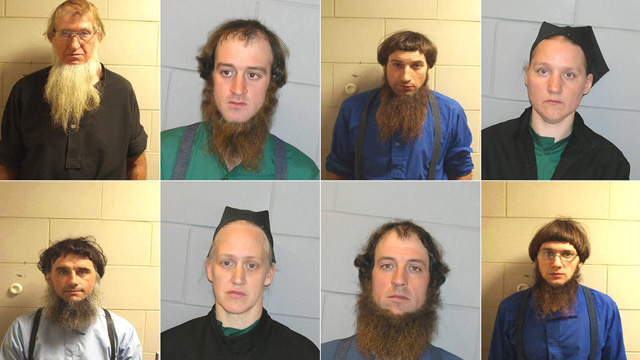 Whoa, Check Out These Mugshots of Amish Thugs