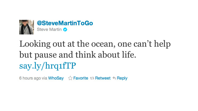 Steve Martin Reflects on What Really Matters