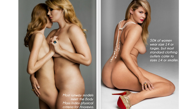 Plus-Size Magazine Claims Models 'Meet The Physical Criteria For Anorexia'