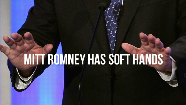 Mitt Romney, Weirdo, Has Silky Skin, Reasonable Views