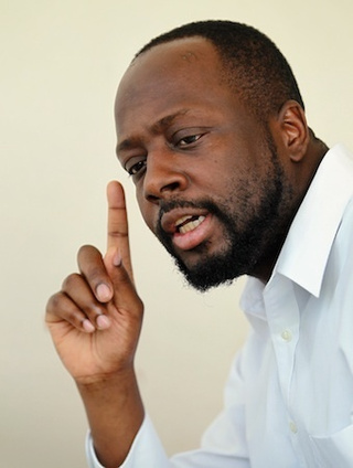Wyclef's Next Album: 'If I Were President'