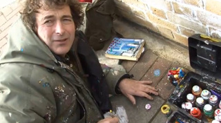 Meet the Man Who Paints Pictures on Used Chewing Gum