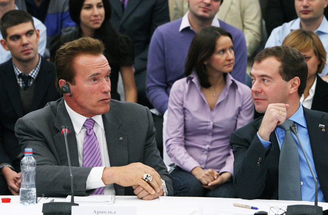 What We'll Miss About Schwarzenegger: Fancy Jewelry