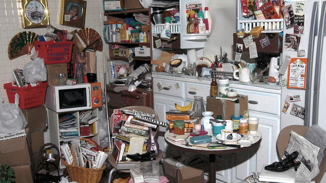 See What It Looks Like When Barbie Becomes A Hoarder