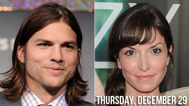 Drama Addict Ashton Kutcher Shows Off Rumored New Girlfriend