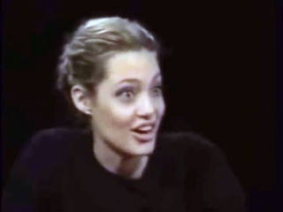 Is Angelina Jolie Coked Up in This Interview?