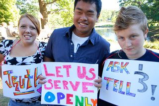 Military Accepting Openly Gay Applicants Now