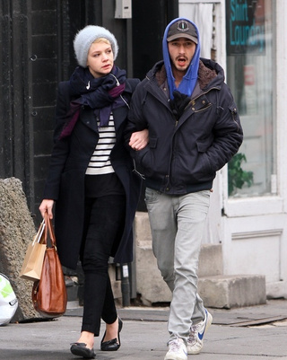 Shia LaBeouf and Carey Mulligan Taking Transatlantic Break