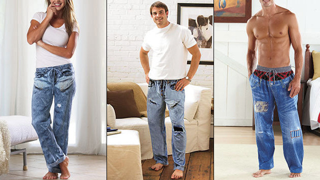 Please Don't Buy Your Boyfriend 'Pajama Jeans For Men' This Christmas