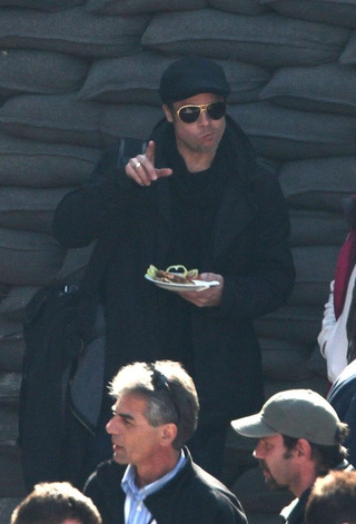 Brangelina Get Hungry in Hungary: Gallery