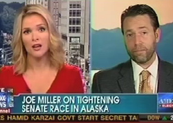 Joe Miller Still Can't Give Straight Answer About Palin's Presidential Qualifications