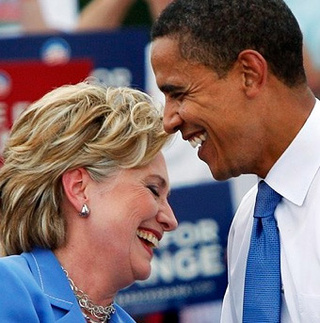 Obama Whooping Clinton in Hypothetical 2012 Poll