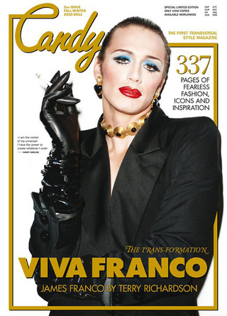 James Franco Is a Drag Queen Cover Girl