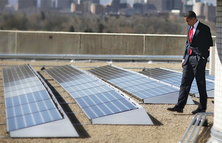 White House Roof Gets Solar Panels, Until a Republican President Takes Them Off