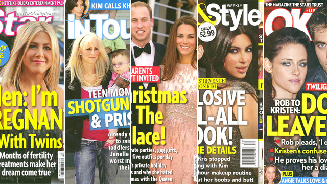 This Week In Tabloids: Jen Aniston's Neighbor Saw Her Baby Bump From A Kitchen Window