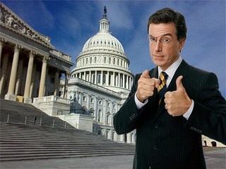 Stephen Colbert To Testify Before Congress, About Something