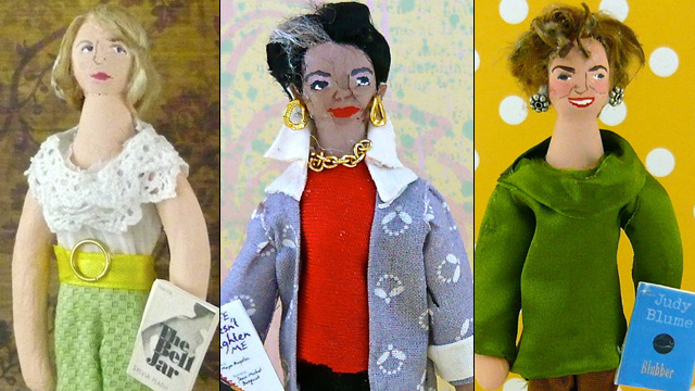 All Of Your Favorite Female Writers, In Doll Form