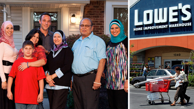 Christian Group Pressures Lowe's Into Pulling Ads From All-American Muslim