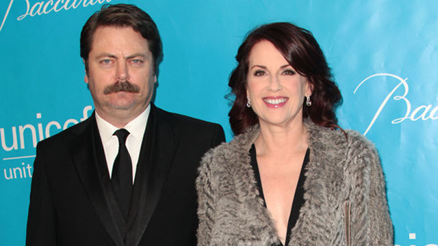 Megan Mullally And Nick Offerman Are The Couple You Want To Be
