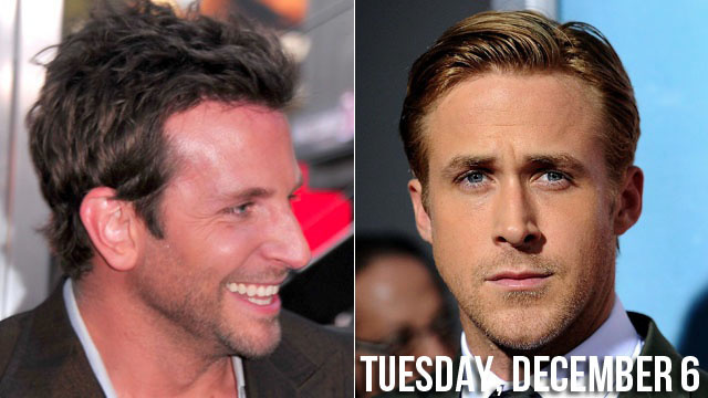 Bradley Cooper Has A Hard-On For Ryan Gosling