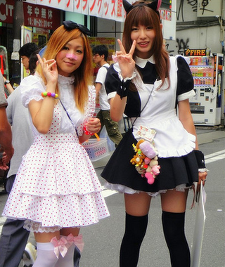 Japanese Lolita Party Crashers Prove Fashionistas Can't Tell Asians Apart