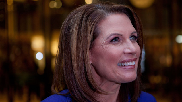 Michele Bachmann Thinks Occupy Wall Street Wants 'Other People To Pay For Their Stuff'