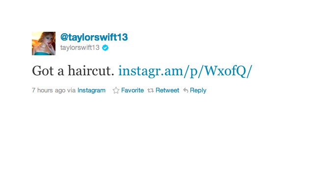 Breaking: Taylor Swift Got Bangs