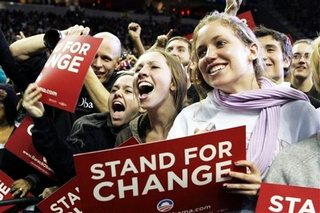 Young Voters Not Feeling the Democratic 'Vibe' Much Anymore