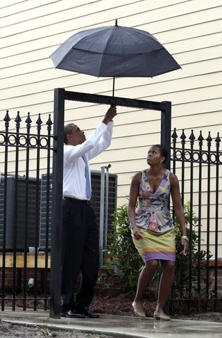 Michelle Had Never Really Overcome Her Childhood Fear of Umbrellas