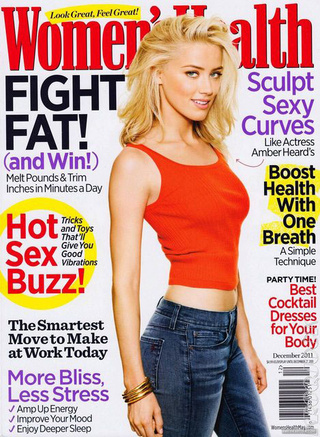 Amber Heard's Organs Scooped Out By Women's Health [UPDATED]