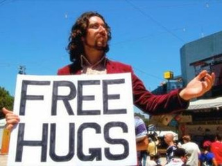 'Free Hugs' Guy Got Screwed Over by the Guy Who Made His Viral Video