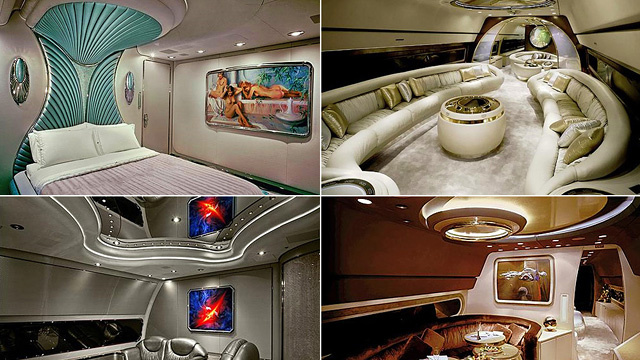 Inside the Private Planes of Arms Dealers and Heads of State