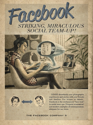 What If Mad Men's Don Draper Designed Facebook Ads?