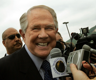 Pat Robertson-Founded Group Suing NYC Over 'Spooky Mosque' Near Ground Zero