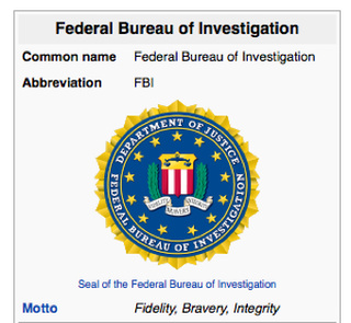 FBI Demands Its Logo Be Removed From Wikipedia