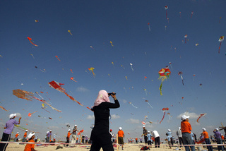 Kite Flying Kids in Gaza: 'At Least Today We Can Enjoy Our Freedom'