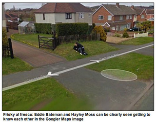 Google Maps Catches Children Making Out Behind Bushes