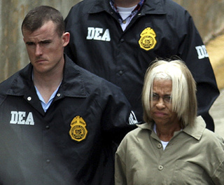 Ex-Wife of 'American Gangster' Busted for Cocaine Trafficking