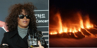 Celebrities: Inconvenienced by the Big Volcano!