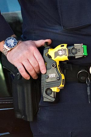 San Francisco Subway Cops Temporarily Lose Taser Privileges